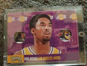 1998-99 Skybox 'Thunder' Kobe Bryant NBA basketball card (opens up to booklet)