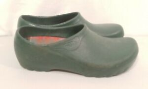 Jolly Fashion By Alsa Green Clogs Plaid Size 37 - 4 5 US Size 6