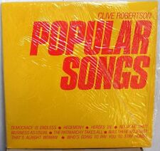 CLIVE ROBERTSON MINIMAL SYNTH LP CANADA SOUND ART-ELECTRONIC-EXPERIMENTAL-MINT