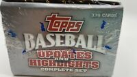2005 Topps Updates and Highlights Baseball New Sealed complete 330 cd set 58562