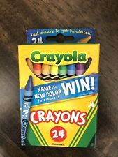 ✒�Name New Color~*Includes Discontinued Dandelion* Crayola®Crayons~Classic 24 ct
