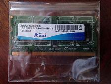 RAM DDR2 SDRAM 1GB-1RX8 PC2-6400S-666-12 A-DATA per PC portatili