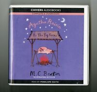 Agatha Raisin: As the Pig Turns - M.C. Beaton - Audiobook - 6CDs