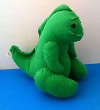 "Green T-Rex Dinosaur 9"" Plush Stuffed Animal Tyrannosaurus"