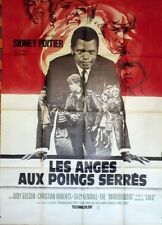 """""""LES ANGES AUX POINGS SERRES (TO SIR WITH LOVE)"""" Affiche origin. Sidney POITIER"""