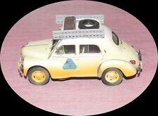 Renault 4 cv Raid Méditerranée - Le Cap - R 1062 -  1950 - 1/43