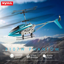RTF Syma S107W Micro Infared 3.5CH RTF Radio Control RC Helicopter LED Indoor
