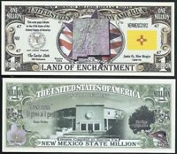 FREE SLEEVE Sean Connery as 007 Million Dollar Bill Funny Money Novelty Note