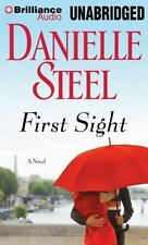 FIRST SIGHT : A Novel by Danielle Steel (2014, BRILLIANCE AUDIO CD, Unabridged)