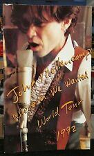 Vintage Rock Concert Program JOHN MELLENCAMP WHENEVER WE WANTED WORLD TOUR 1992