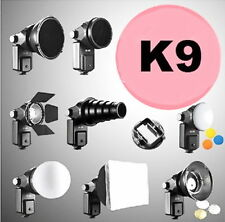 NEW 6 in 1 Complete Kit For Flash Gun Accessories Kit