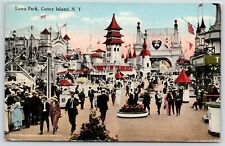 Heart of Coney Island~Gyroplane Ride~The Toboggan~10c Ticket Booths~Ferris Wheel