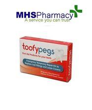 Toofypegs Emergency Dental Repair Kit For Lost Fillings Loose Crowns toofy pegs