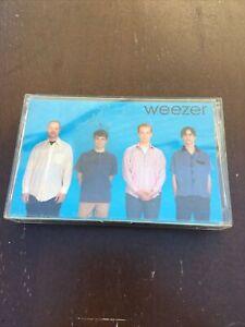 WEEZER BLUE ALBUM CASSETTE TAPE GEFFEN 1994