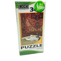NWT Lang Rose Cat 300 Piece Jigsaw Puzzle