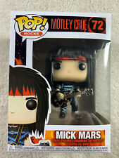 Read! Funko Pop! Rocks #72 Mick Mars Motley Crue Rock Band Vinyl Figure 2018