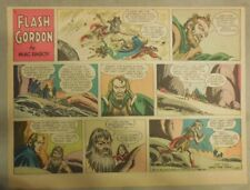 Flash Gordon Sunday Page by Mac Raboy from 1/20/1957 Half Page Size