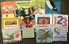 Children's Preschool Books Lot of 12  Homeschool Distance Learn Soft/Hard Covers