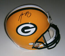 PACKERS Aaron Rodgers signed Full Size Replica helmet JSA LOA AUTO Autographed