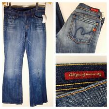 NWT Women's CITIZENS OF HUMANITY Ingrid #002 Low Waist Flair Jeans 27 X 33