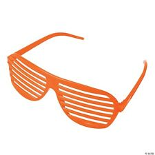 Orange LED Light-Up Shutter Glasses