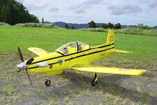 Unique EPO Pilatus PC9 RC KIT Propeller Plane W/O Motor Servo 40A ESC Battery