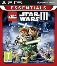 LEGO Star Wars 3 - The Clone Wars For PAL PS3  (New & Sealed)