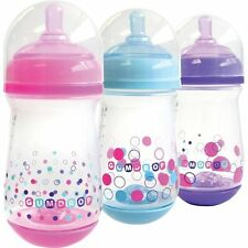 Tomy Y4945MP Baby Bottle 100% Silicone Nipple Visible Air Venting System Gumdrop