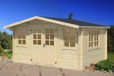 34mm Gartenhaus 400x300 cm Gerätehaus Holzhaus Holz Blockhaus Schuppen Hütte Neu