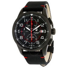 NEW Victorinox Airboss Black Edition Automatic Chronograph Men's Watch 241721
