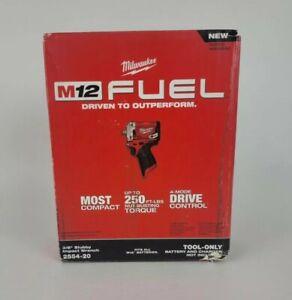 "Milwauke2 M12 Fuel 1/2"" Stubby Impact Wrench"