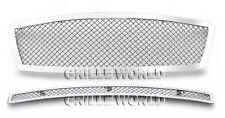 For 2003-2005 Infiniti FX35/FX45 Stainless Mesh Premium Grille Combo