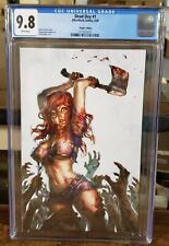 DEAD DAY #1 -  Alan Quah Virgin Variant - CGC 9.8 - AfterShock Comics - 2020