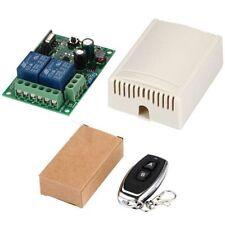 AC 110 / 220V 2CH sd Transmetteur RF universel de relais à télécommande sans fil