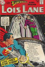 Superman's Girl Friend LOIS LANE #90 VF DC 1969 ADAMS cover Future husband