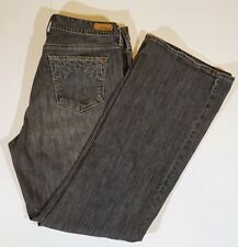 Eddie Bauer Classic Fit Bootcut Stretch Denim Jeans Size12 R 32 X 30 Light Gray