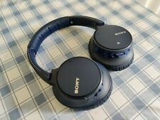 Sony WH-CH700N Wireless Over-Ear Headphones - Blue in Good Condition