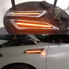 For Nissan Patrol Y62 2010 - 2017 Side Fender Warn Yellow LED Turn Signal Light