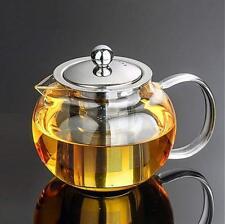 45 Oz Glass Teapot Set Stylish Tea Kettle For Loose Leaf Tea