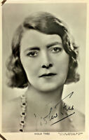 VIOLA TREE ACTRESS SIGNED REAL PHOTO POSTCARD RPPC