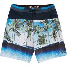 Billabong Men Pivot X Indigo Platinum X Boardshorts Swimwear Sz 32 M115FPIX