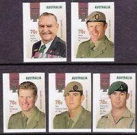 2015 Australian Legends! The Victoria Cross Recipients - Set of 5 Booklet Stamps