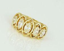 Reinheit VS Echte Diamanten-Ringe im Band-Stil für Verlobung
