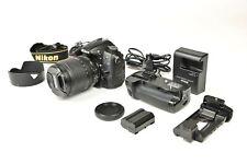 Nikon D7000 DSLR Kit inkl. AF-S DX 18-105 mm VR Objektiv - Batteriegriff - TOP!