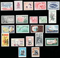 1967 Year Set / Canada postage stamps  MNH  - Superfleas