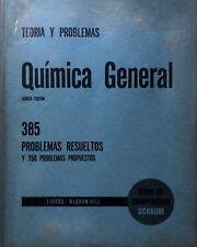 SCHAUM ROSENBERG TEORÍA PROBLEMAS QUÍMICA GENERAL 385 PROBLEMAS RESUELTOS Y 750