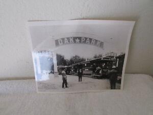 Vintage Oak Park Sacramento California Photograph