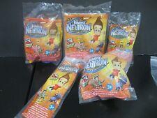 "Jimmy Neutron Boy Genius  ""Complete Set""  NIP Wendy's 2004"
