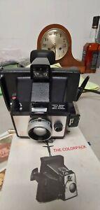 Vintage polaroid land film camera