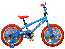 Nickelodeon 16 inch Paw Patrol All Character Kids Bike with Training Wheels